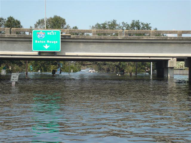 610  Interstate Flooded